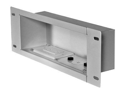 Peerless Recessed Cable and Storage Management Box IBA3AC-W Cable distribution box