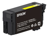 Epson T41P - 350 ml - High Capacity - yellow - original - blister with RF/acoustic alarm - ink cartridge - for SureColor T3470, T5470, T5470M