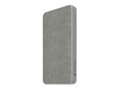 mophie powerstation (Fabric) Power bank 10000 mAh 2 output connectors (USB, USB-C)