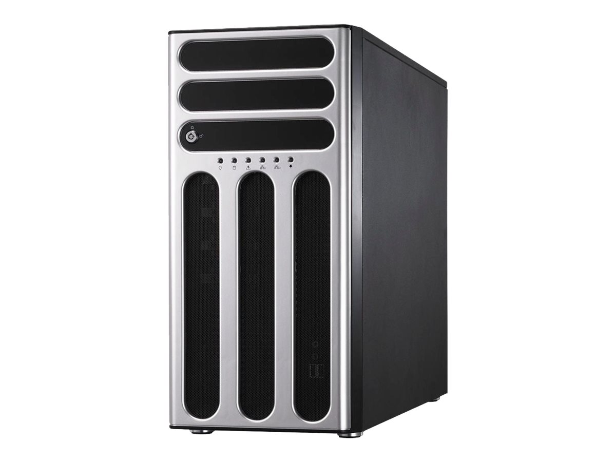 ASUS Barebone TS300-E9-PS4 Tower, 4x 3.5inch Hot-swap, 1x LGA1151, 4x DDR4 max 64GB, ASM-iKVM, 4x GbE, 4x PCIe, 8x SATA, 2x M.2, Single PSU