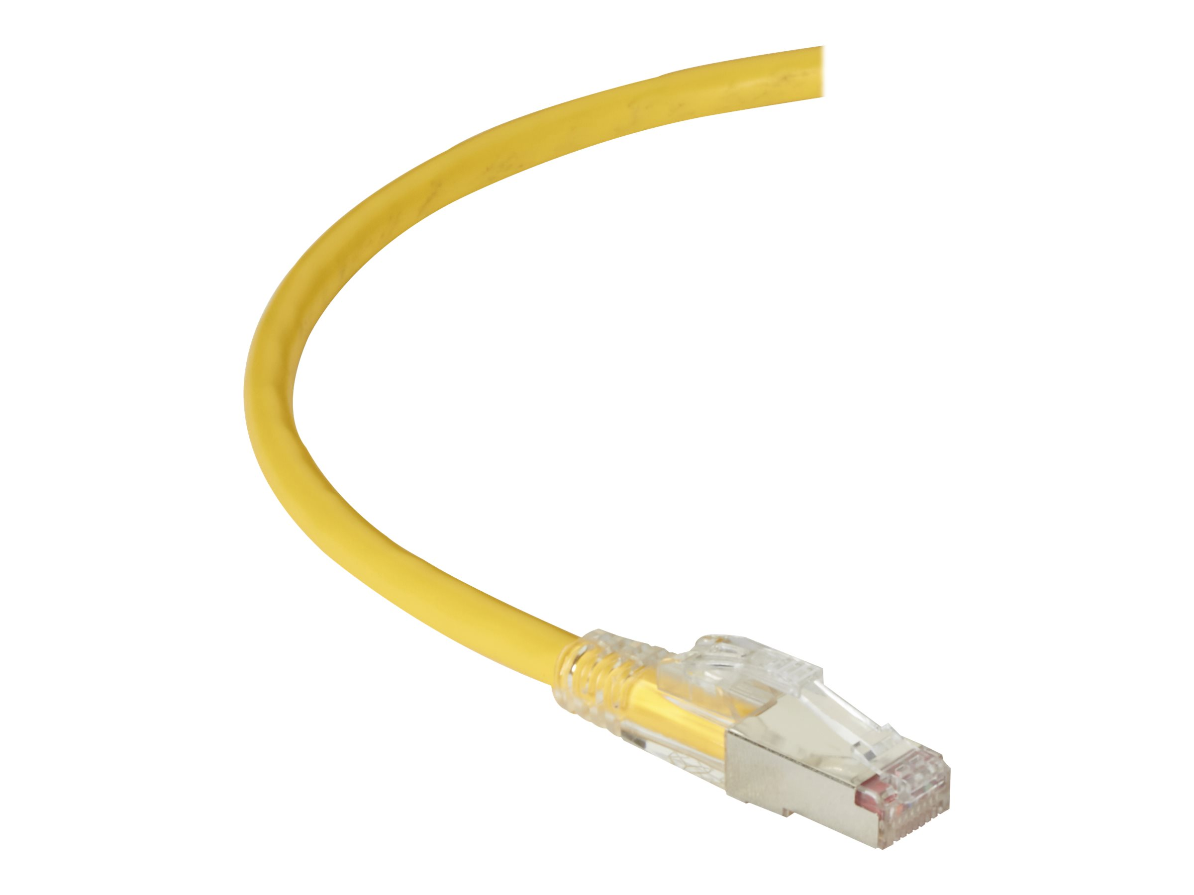 Black Box GigaTrue 3 patch cable - TAA Compliant - 2.13 m - yellow
