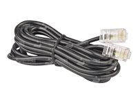 TRIOTRONIK Patch-Kabel - 3 m - Schwarz