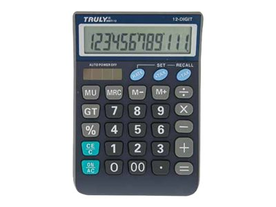 Truly CT866T12BL - calculatrice de bureau