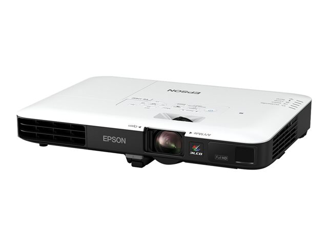 Epson EB-1795F - Projecteur 3LCD - portable - 3200 lumens (blanc) - 3200 lumens (couleur) - Full HD (1920 x 1080) - 16:9 - 1080p - 802.11n wireless / NFC / Miracast