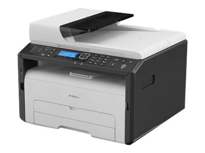 Ricoh SP 220SFNw - Multifunktionsdrucker - s/w - Laser - Legal (216 x 356 mm) (Original) - A4/Legal (Medien)