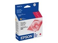 Epson UltraChrome T0547 Red original ink cartridge for Stylus