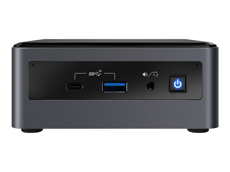 Intel Next Unit of Computing Kit 10 Performance - NUC10i7FNH - Kit - mini-PC - Core i7 10710U 1.1 GHz - 0 GB - ingen HDD