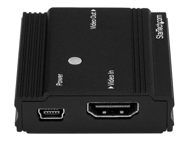 StarTech.com 115 ft. (35 m) 4K HDMI Extender - HDMI Extender - Up To 4K60 - Amplifier/Booster - HDMI to HDMI Booster (HDBOOST4K)