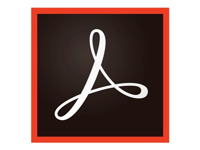 Adobe Acrobat Standard 2017 License 1 user CLP level 1 (8000-99999) Win