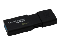 Kingston DataTraveler 100 G3 - USB flash drive - 32 GB - USB 3.0 - black