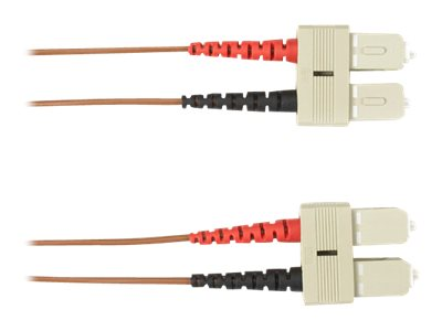 Black Box patch cable - 3 m - brown