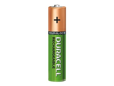 Piles & Chargeurs Duracell Recharge Ultra batterie - 4 x type AAA - NiMH