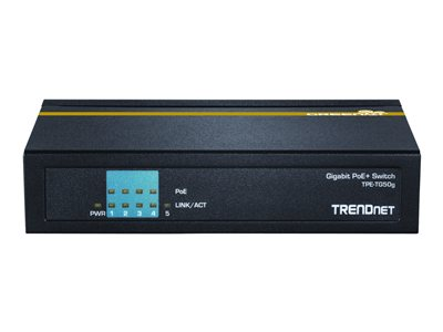 TRENDnet TPE TG50g Switch 5-porte Gigabit  PoE+