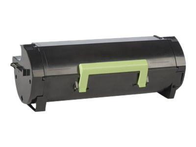 Lexmark 601 - black - original - toner cartridge - LCCP, LRP
