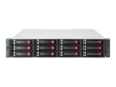 HPE Modular Smart Array 2042 SAS Dual Controller with Mainstream Endurance Solid State Drive LFF Storage - hard drive a…