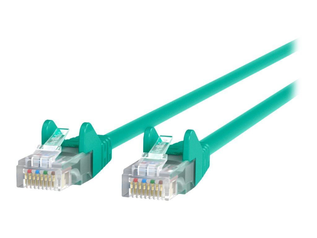 Belkin High Performance patch cable - 10.7 m - green