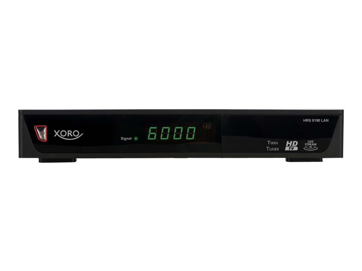 Xoro HRS 9190 LAN - Digitaler Multimedia-Receiver