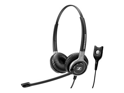 Sennheiser Century SC 660 Headset on-ear wired Easy Disconnect black wi