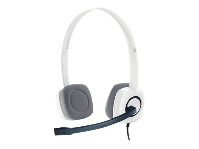 Logitech Stereo Headset H150 - Headset - On-Ear - verkabelt - Coconut
