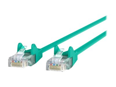 Belkin patch cable - 1 ft - green