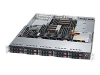 Supermicro SuperServer 1028R-WTRT Server rack-mountable 1U 2-way RAM 0 MB SATA/SAS