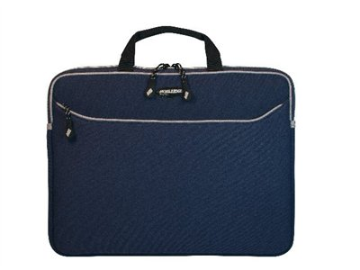 Mobile Edge 17INCH SlipSuit MacBook Pro Edition Notebook sleeve 17INCH platinum, navy blue