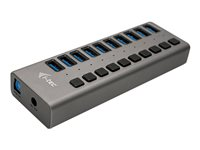 i-Tec USB 3.0 Charging HUB 10 port  Power Adapter 48 W Hub 10 porte USB