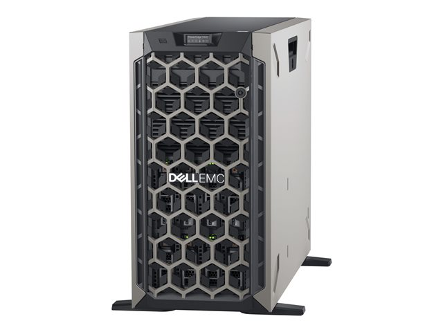 Image of Dell EMC PowerEdge T440 - tower - Xeon Silver 4208 2.1 GHz - 16 GB - SSD 480 GB