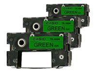 Casio 3 green 0.7 in x printer transfer ribbon for Dis