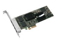 Intel Gigabit ET Quad Port Server Adapter - Network adapter - PCIe 2.0 x4 low profile - Gigabit Ethernet x 4 - refurbished - for UCS C200 M2, C210 M2, C250 M2, C260 M2