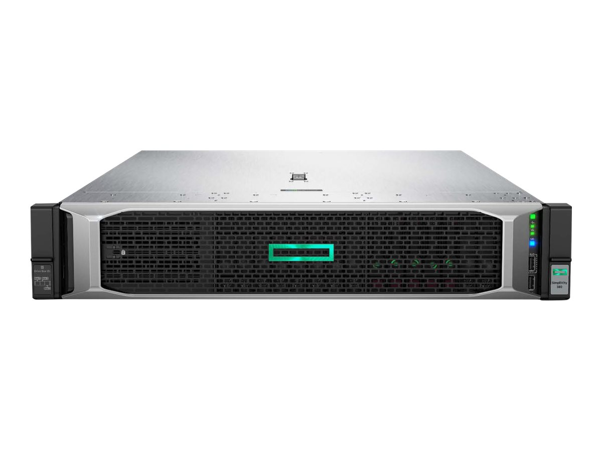 HPE SimpliVity 380 Gen10 Node - rack-mountable - no CPU - 0 GB - no HDD
