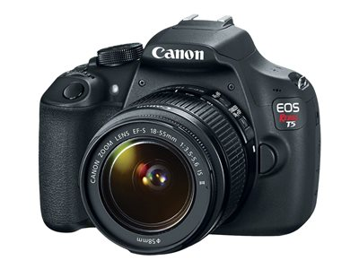Canon EOS Rebel T5 Digital camera SLR 18.0 MP APS-C 1080p