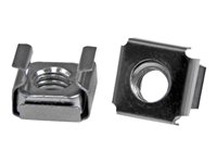 StarTech.com M6 Cage Nuts for Server Racks and Cabinets