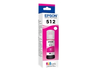 Epson 512 With Sensor - Magenta - original - ink tank - for EcoTank ET-7700, ET-7750; Expression Premium ET-7700, ET-7750