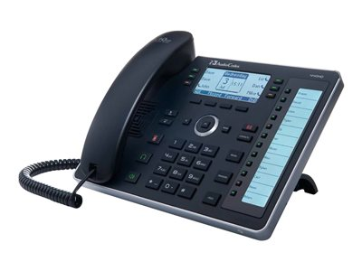 AudioCodes 440HD SIP IP Phone VoIP phone 3-way call capability SIP, SDP 6 lines bla