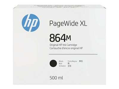 HP 864M - black - original - PageWide XL - ink cartridge