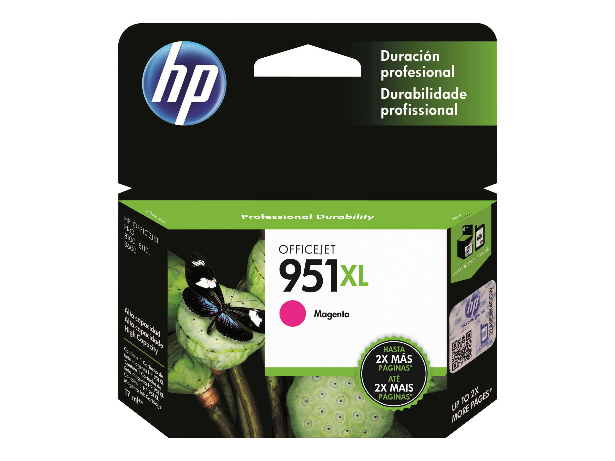 HP 951XL - High Yield - magenta - original - ink cartridge