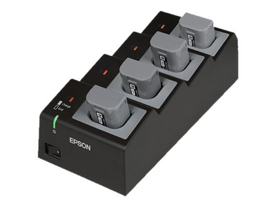 Epson Quad Battery Cradle/Charger - battery charger