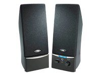 Cyber Acoustics CA-2014rb Speakers for PC 4 Watt (total) black