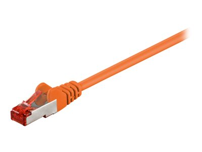 goobay CAT 6 SFTP, PiMF 7.5m Patchkabel Orange