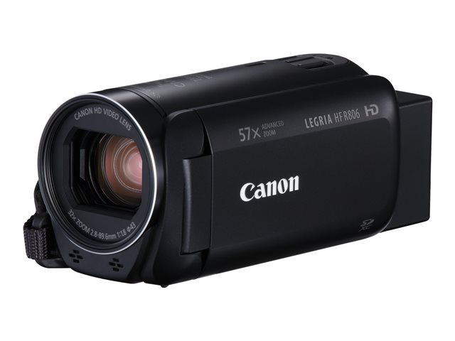 Image of Canon LEGRIA HF R806 - camcorder - storage: flash card