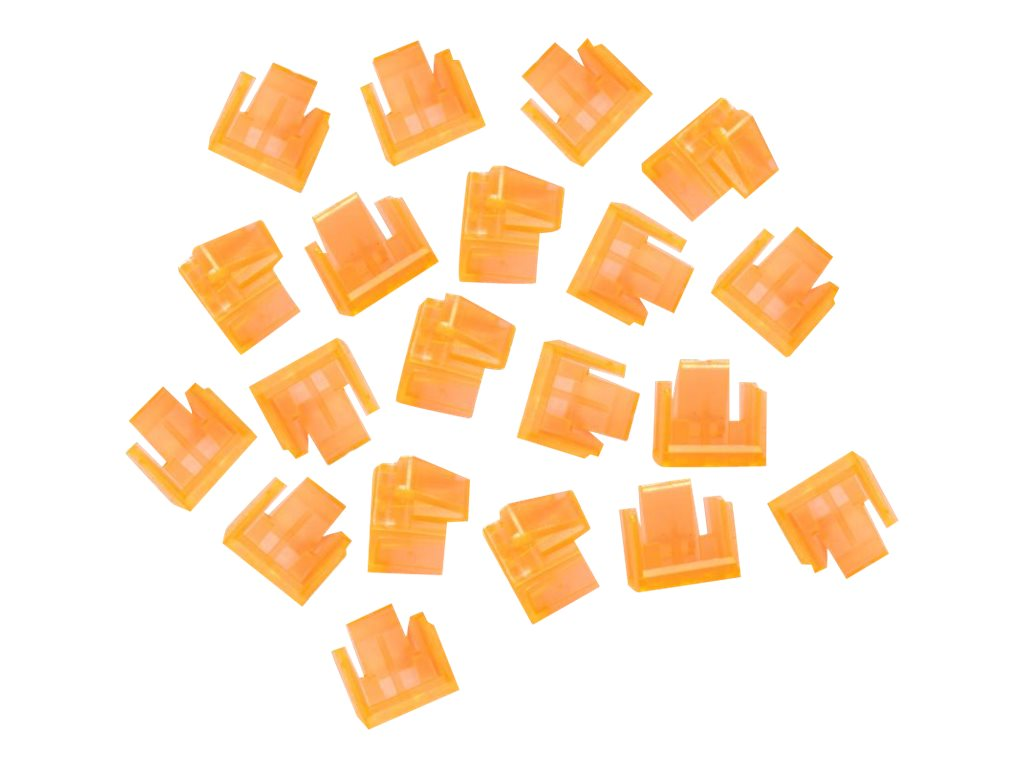 LINDY - LAN-Portblocker - orange (Packung mit 20)