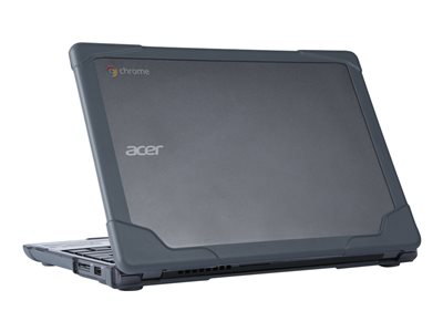 MAXCases MAX Extreme Shell Notebook top and rear cover gray for Acer