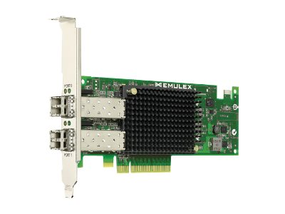 Emulex OneConnect OCE11102-NM - Netzwerkadapter - PCIe 2.0 x8 - 10GBase-SR x 2 - für Synology RackStation RS3412RPxs, RS3412xs