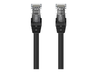 25ft CAt5e Crossover Patch Cable Black