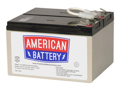 ABC RBC109 UPS battery 2 x lead acid 9 Ah