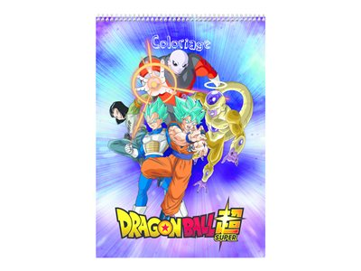 Livres Clairefontaine Dragon Ball - album de coloriage