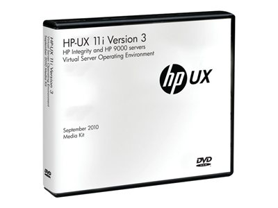 HP-UX Virtual Server Operating Environment - (v. 11i v3) - license - 4 cores