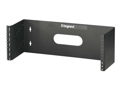 C2G 4Ux19in Hinged Wall Mount Bracket (TAA Compliant) Mounting bracket wall mountable black
