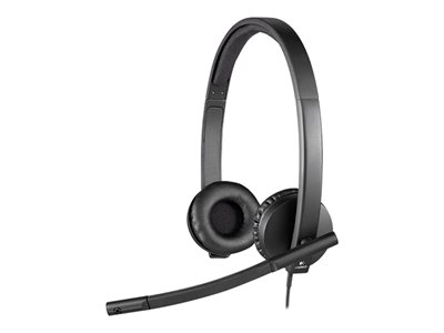 Logitech USB Headset H570e Headset on-ear wired USB